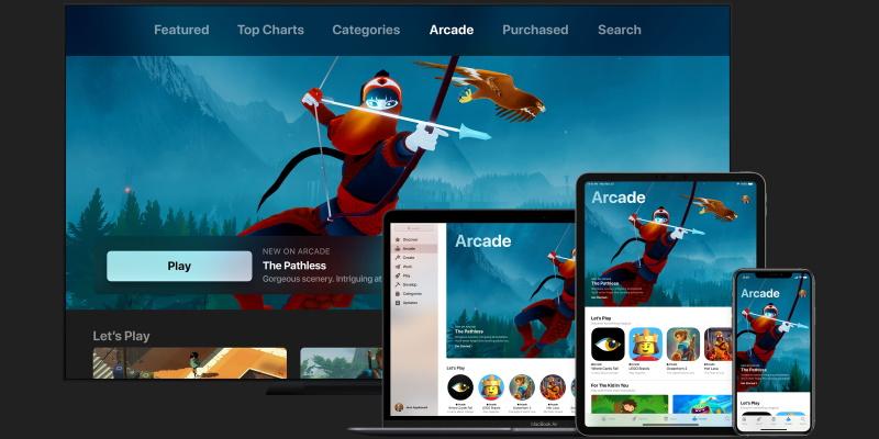 Игровой сервис Apple Arcade доступен всем пользователям iOS 13. Месяц бесплатно