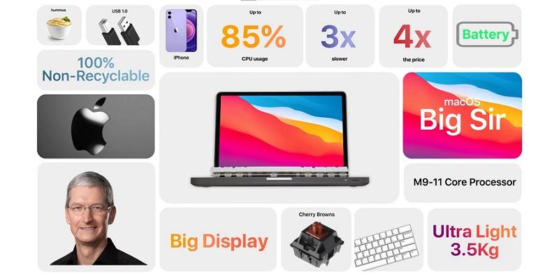 Наперекор Apple: энтузиаст создал MacBook с механической клавиатурой