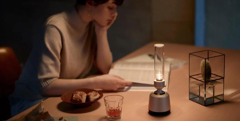Продукт дня: беспроводная колонка-свеча Sony Glass Sound