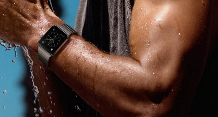Модель apple watch series 1 обладает только защитой от брызг и капель воды.