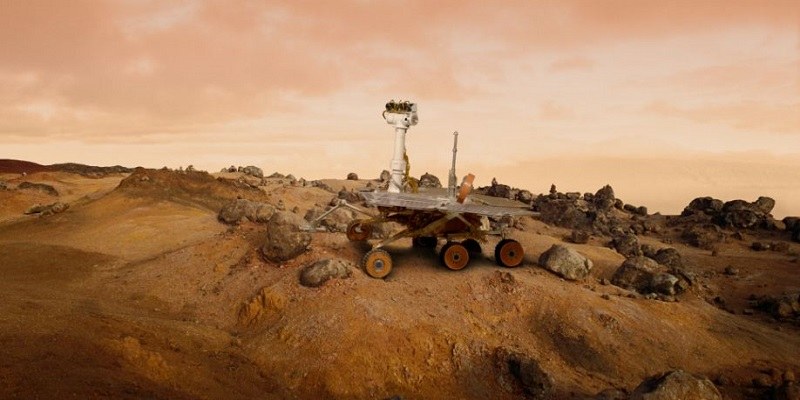 Марсоход - Oppotrunity.