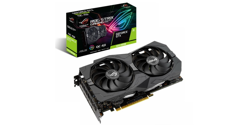 ASUS представила видеокарты на базе графических процессоров NVIDIA GeForce GTX 1660 SUPER и 1650 SUPER