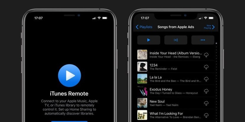 Apple обновила приложение iTunes Remote. Оно не получало апдейтов с 2018 года