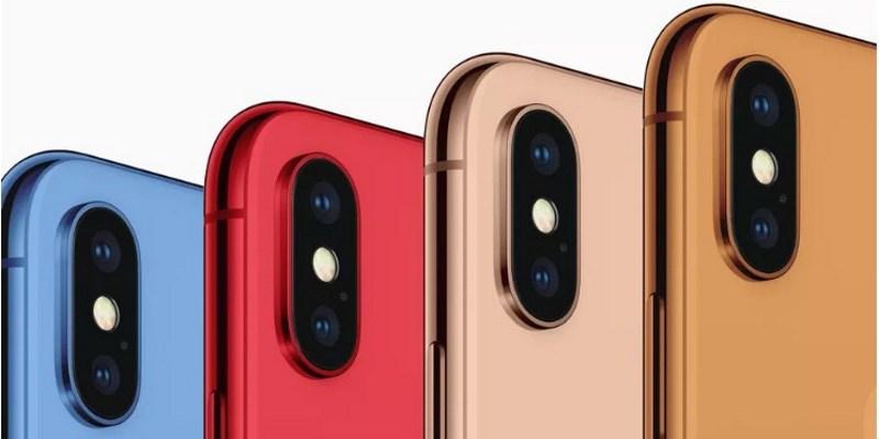 Новый смартфон iPhone XC будет выпущен в пяти разных расцветках