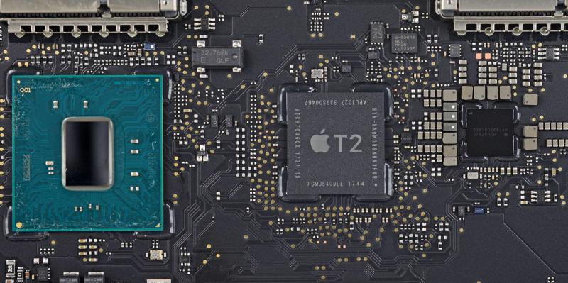 Новые MacBook Pro страдают от самопроизвольных перезагрузок. Виноват чип Apple T2