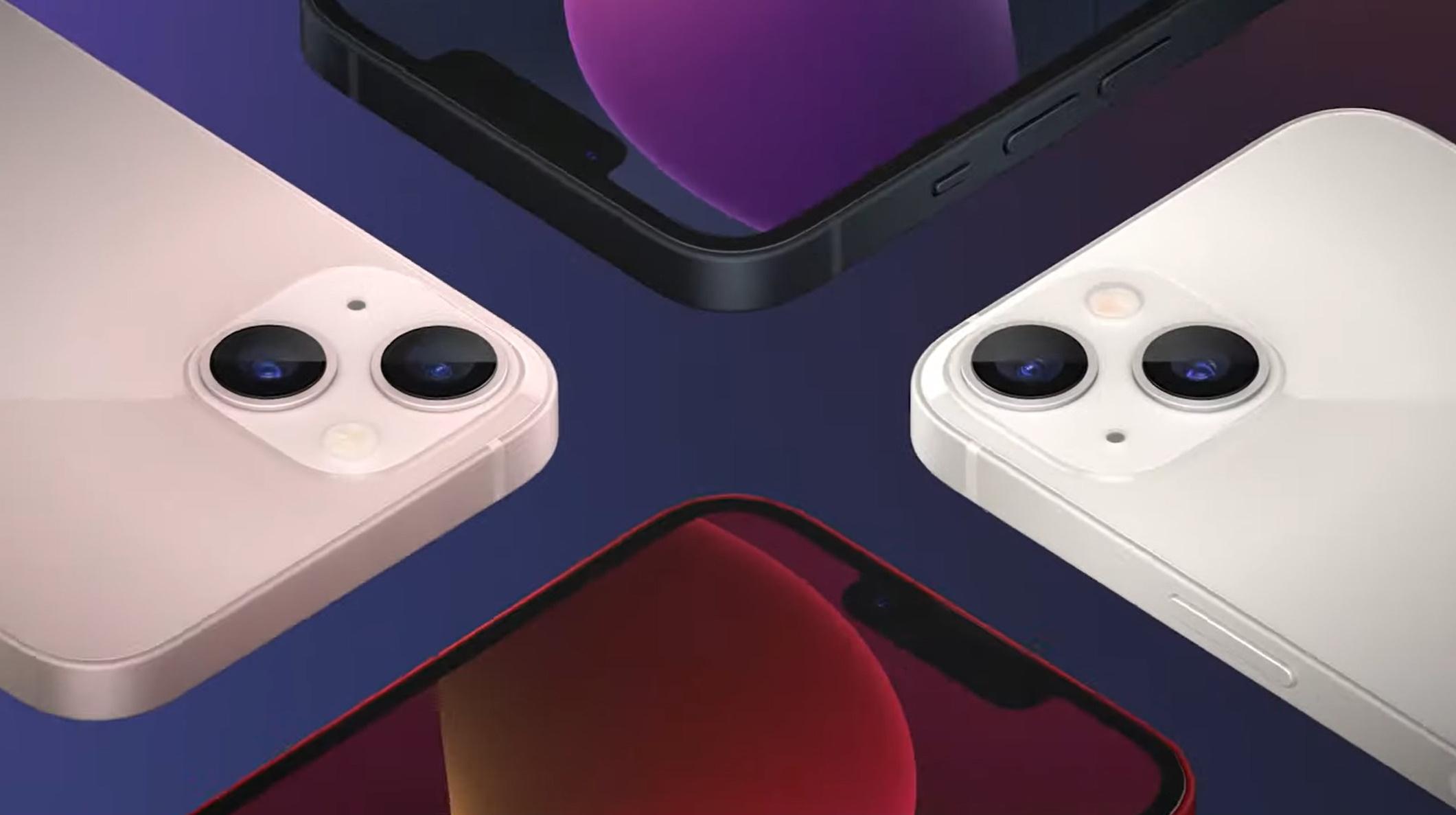 Представлены iPhone 13 и iPhone 13 mini