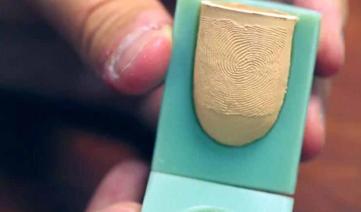 Как сделать так чтобы не было отпечатков пальцев 513