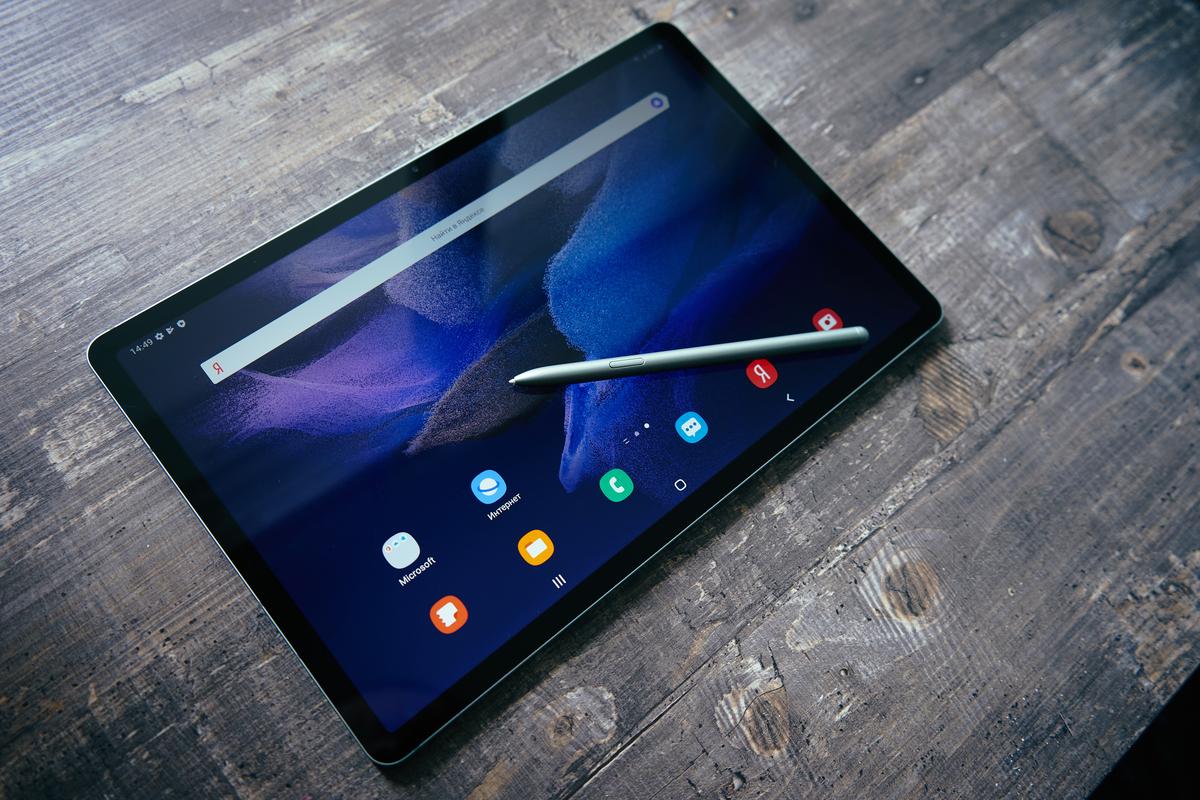 Первый взгляд на планшет Samsung Galaxy Tab S7 FE: логичное продолжение успешной флагманской серии