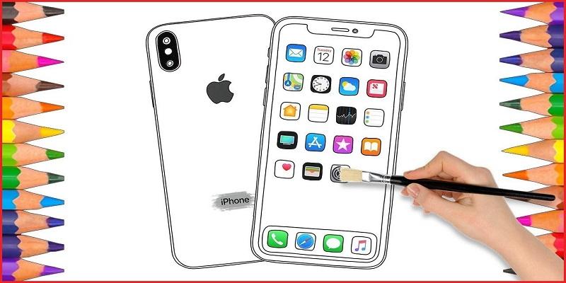 айфон как на фото нарисовать популярность летнего кипариса