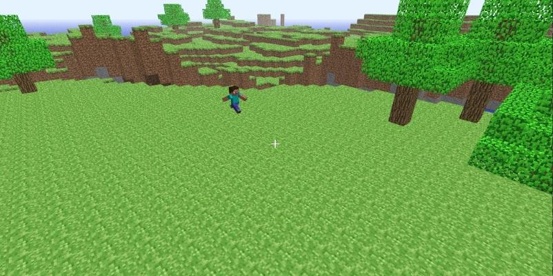 как играть в классический Minecraft в браузере