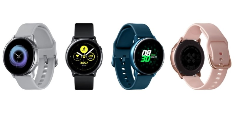 Новинки Samsung: часы Galaxy Watch Active, браслет Galaxy Fit и наушники Galaxy Buds