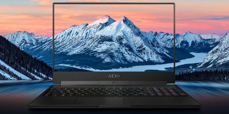 CES 2019: Gigabyte Aero 15 — первый игровой ноутбук с системой искусственного интеллекта