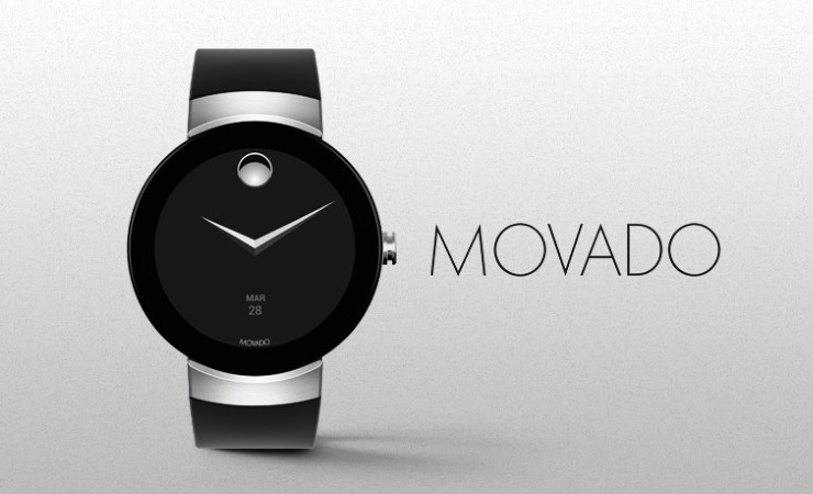 Movado Connect — модная новинка на Android Wear 2.0