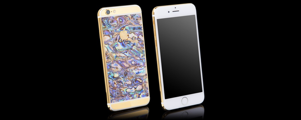 Goldgenie — Luxury Gold iPhone 6 Mother of Pearl Collection