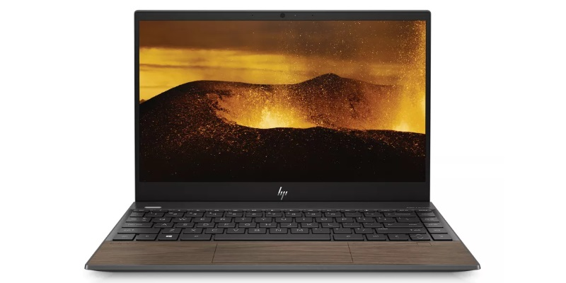 Envy 13 в цвете Nightfall Black with Natural Walnut