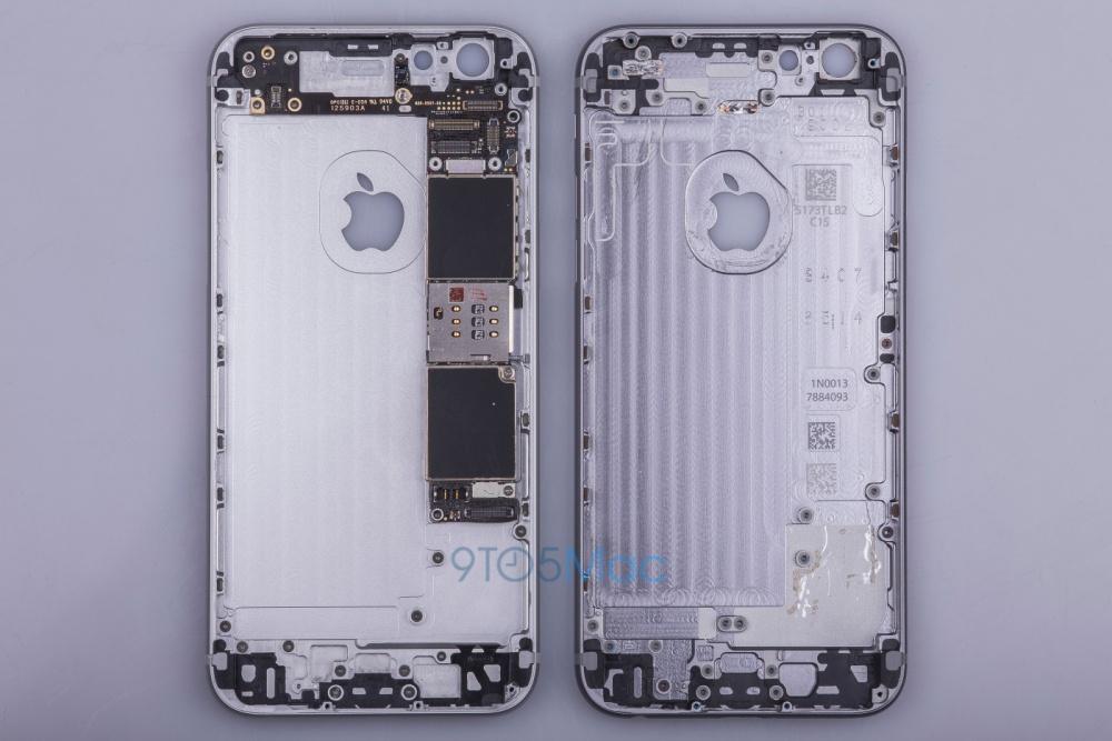 Особенности корпуса iPhone 6s (Фотогалерея)