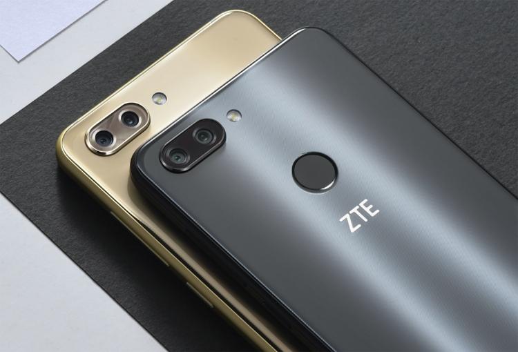 ZTE представила безрамочный смартфон Blade V9