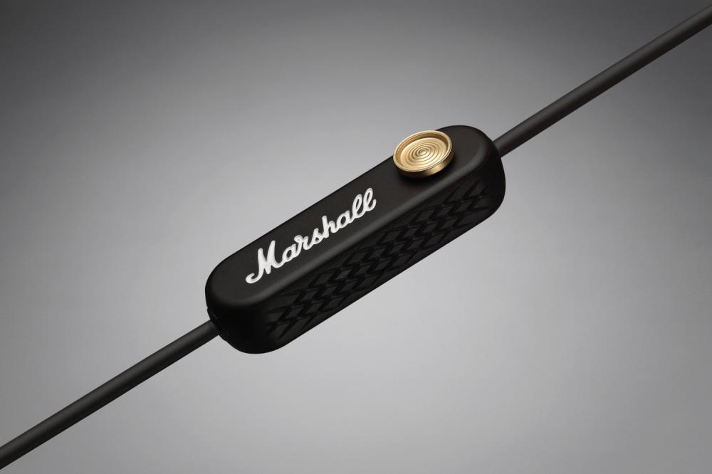 Marshall Minor II Wireless  беспроводные вкладыши с aptX и 12 часами ... 5be03e3b6ef8b