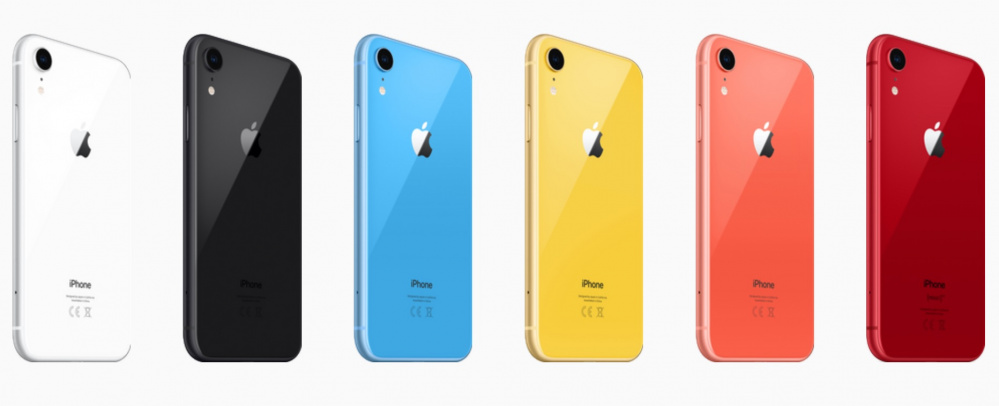 iPhone XR вышел в шести цветах корпуса. Как они выглядят  5bb5bc2fc0375