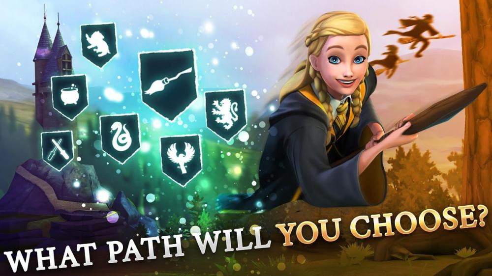 Игра по гарри поттеру создайте своего персонажа школа сериал главные герой