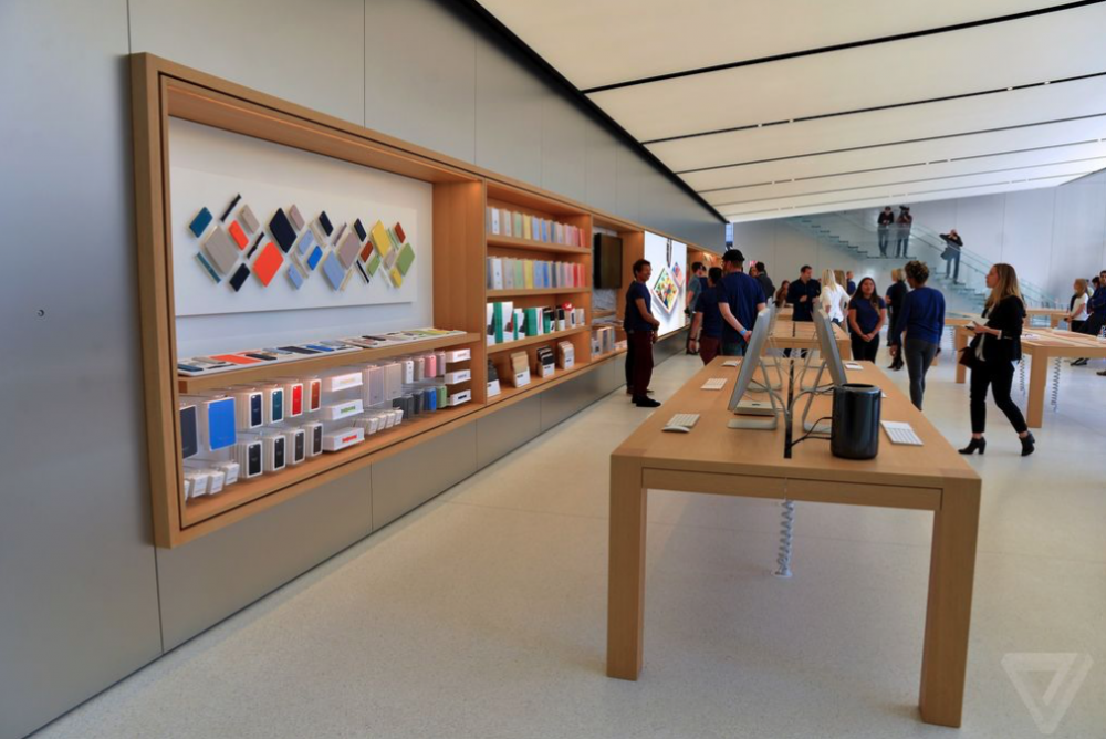 Apple, store, nederland geeft