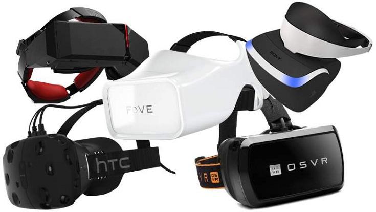Шлемов виртуальной реальности сегодня великое количество!