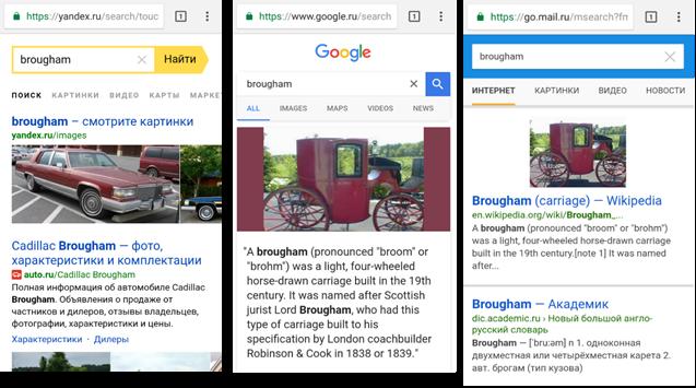 Яндекс vs Google vs Mail ru: один день с тремя поисковиками