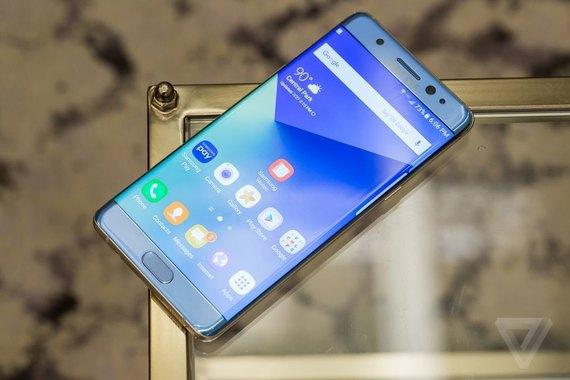 Семь причин купить Samsung Galaxy Note 7