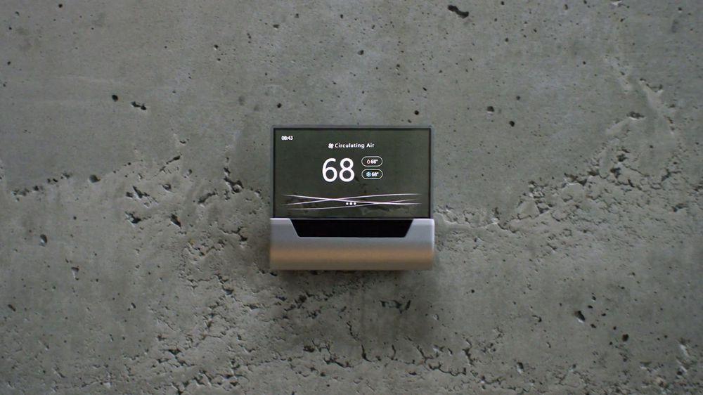 ВMicrosoft анонсировали разумный термостат