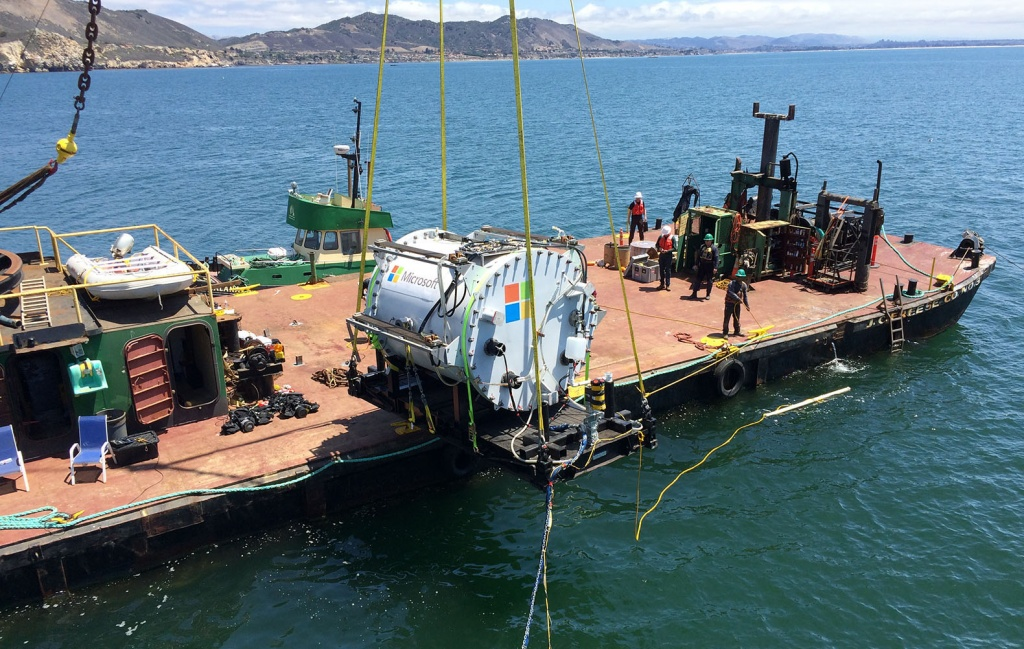Подводные центры хранения данных
