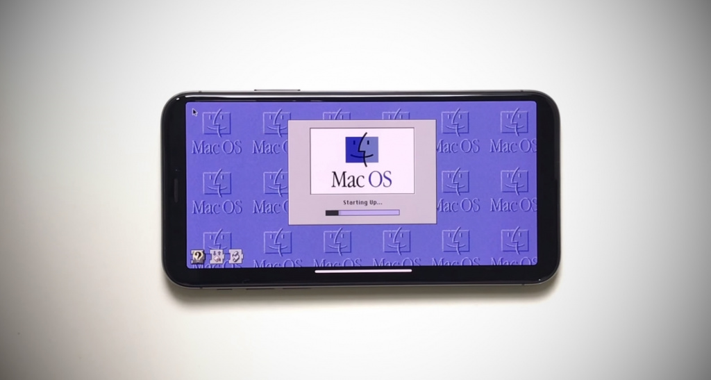 НаiPhone можно играть вWarcraft иSimCity, установив macOS 8