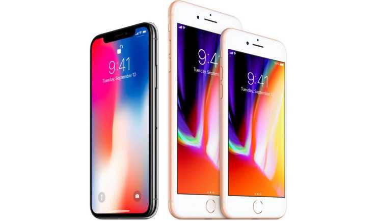 Сравнение iPhone X и iPhone 8