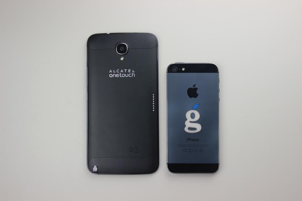 Hero 2 и iPhone 5