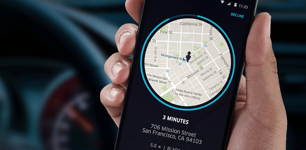 Селфи в Uber