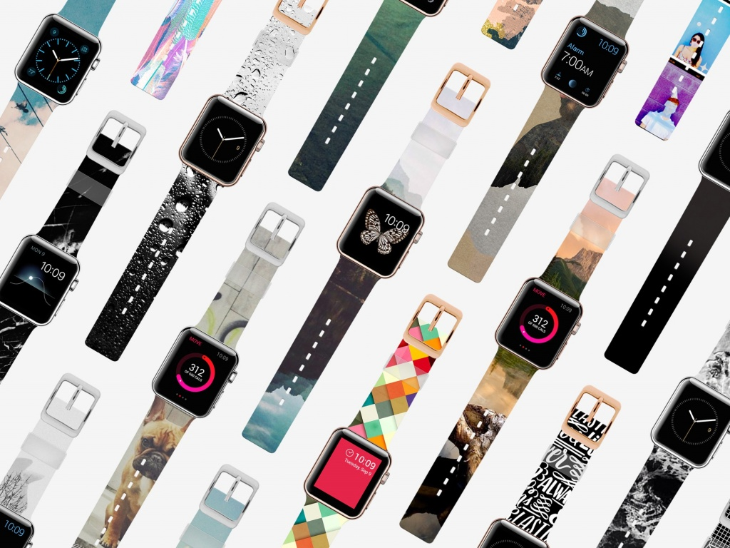 Casetify customizable Apple Watch Band