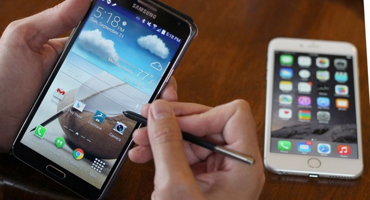 iPhone 6 Plus vs Galaxy Note 3