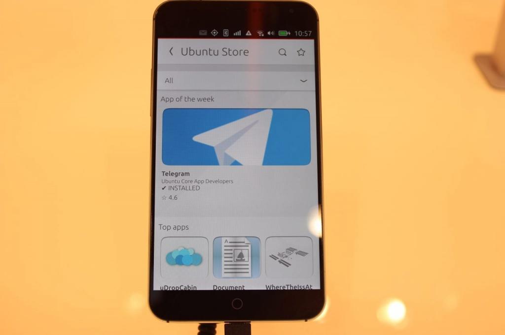 Новинки MWC 15: Первый взгляд на смартфон Meizu под управлением Ubuntu