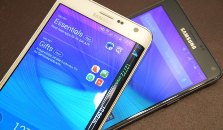 Galaxy Note 4, Galaxy Note Edge