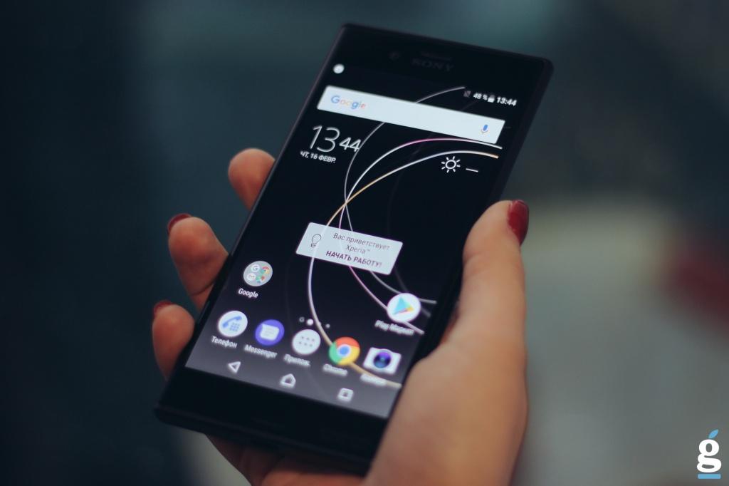 Первый взгляд на Sony Xperia XZs