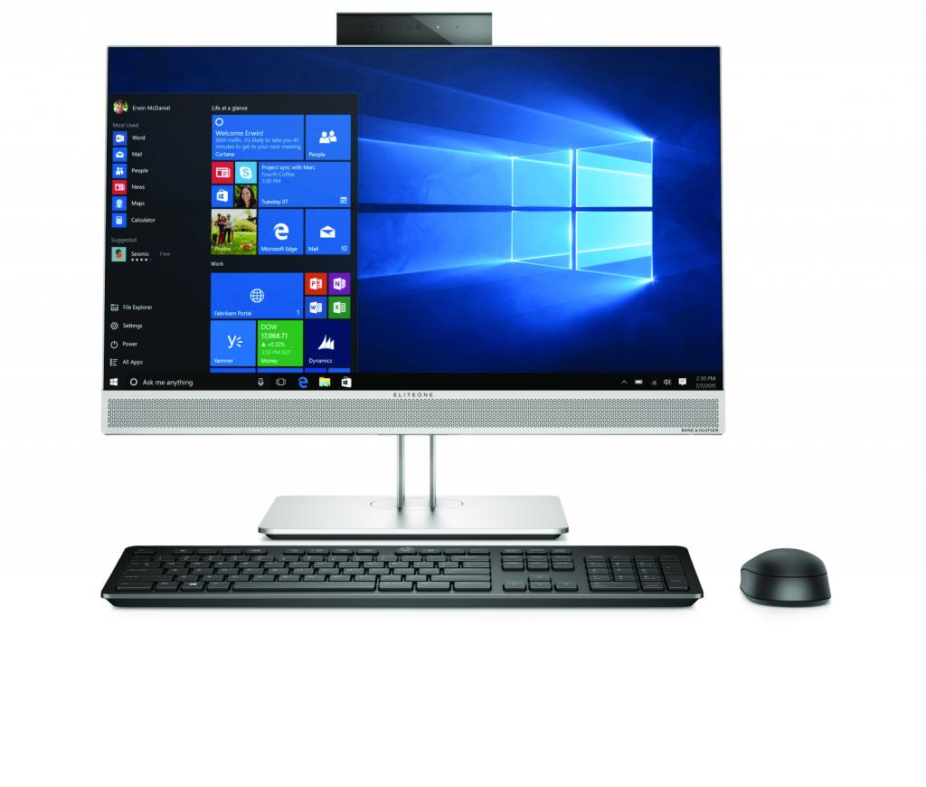 HP представила в Москве новые компьютеры и средства для создания «офиса будущего»