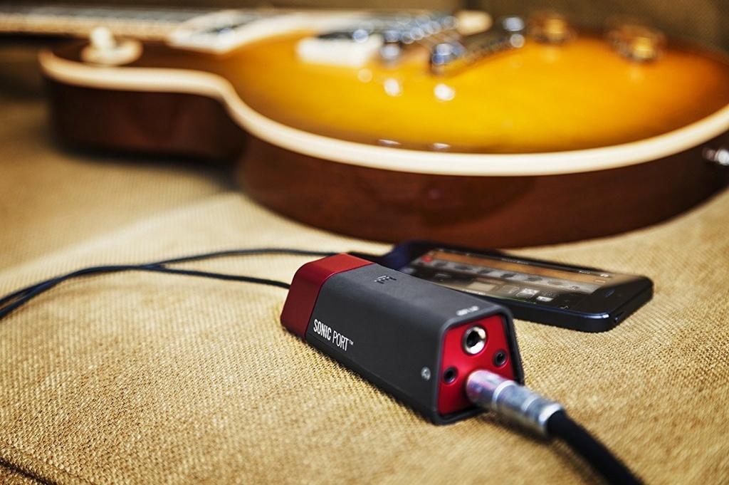 Как подключить гитару к iPhone
