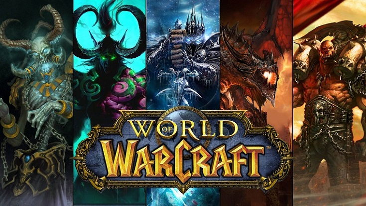 World of Warcaft — популярнейший проект Blizzard