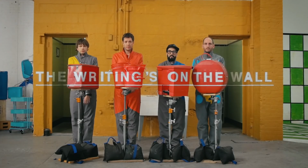 Видео OK Go The Writing's On the Wall