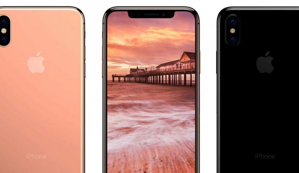 Наименования следующих телефонов Apple: iPhone 8, iPhone 8 Plus иiPhone X
