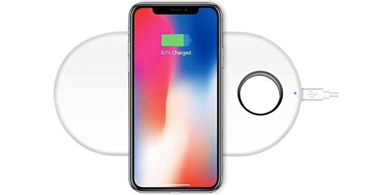 Maluokasa 2-in-1 Wireless Charging Pad