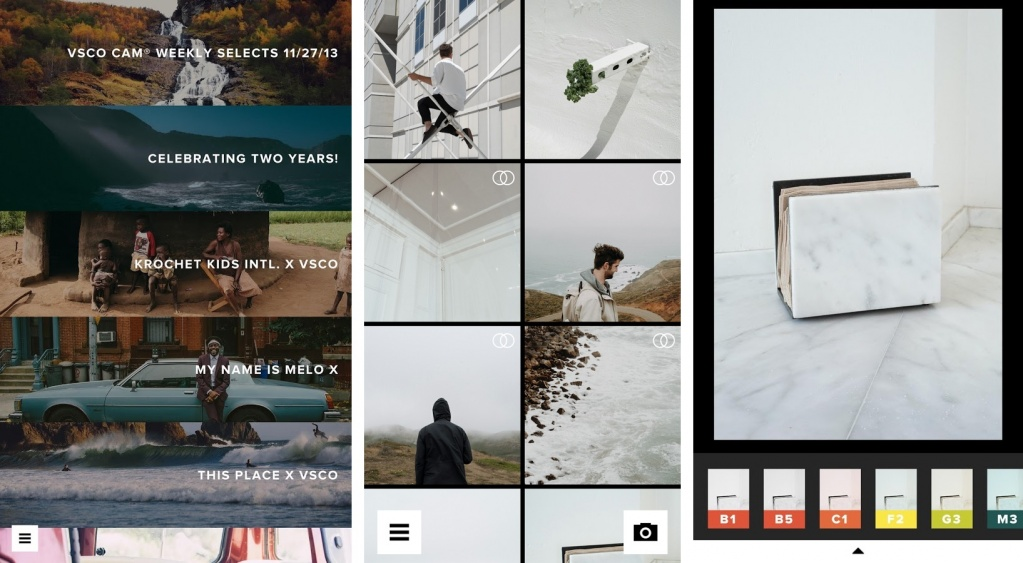 Best free photo editor: VSCO Cam