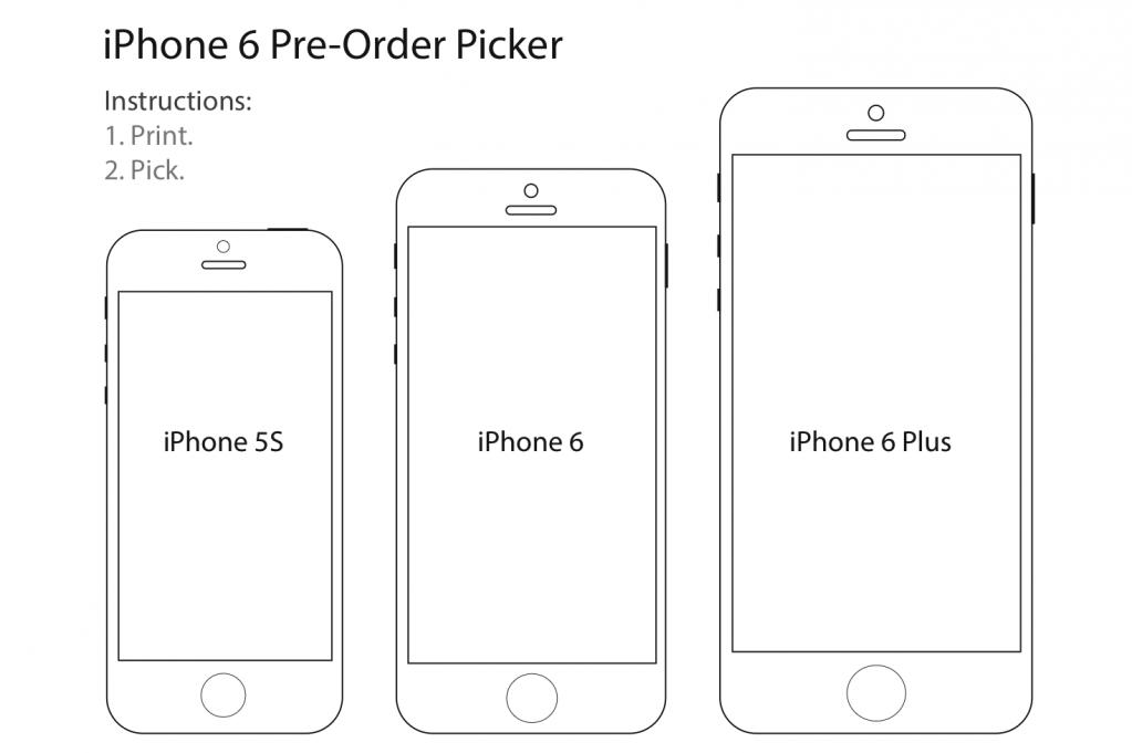 Drawing Lines With Measurements : Как определиться с размером iphone до начала продаж