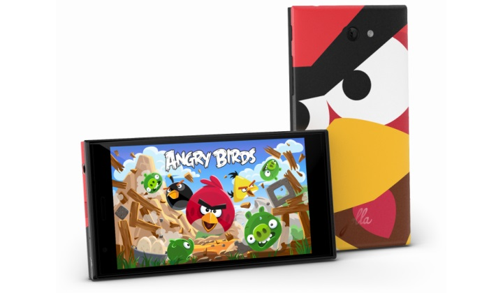 Jolla Sailfish и Angry Birds