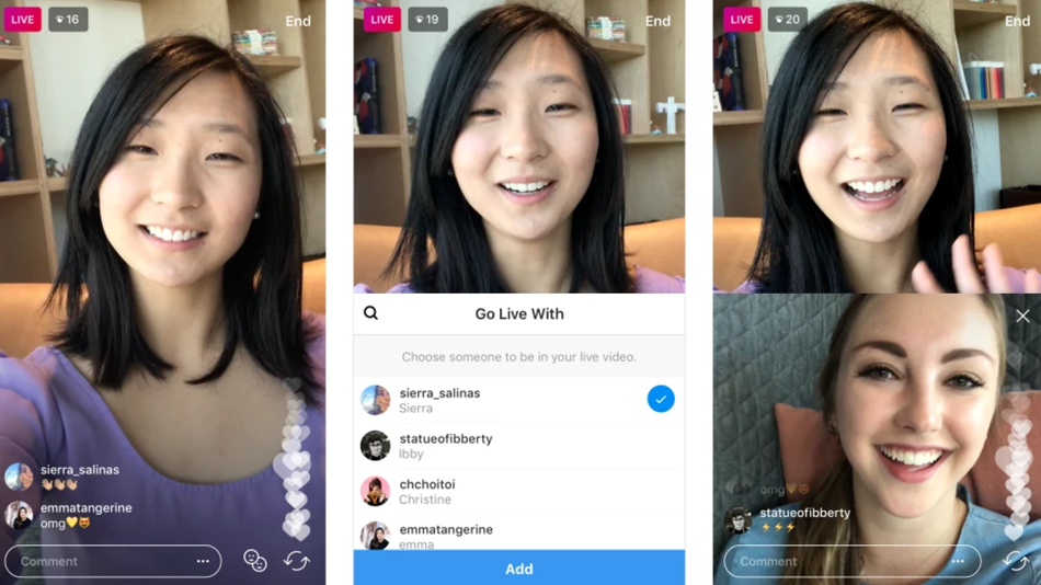 how to start an instagram chat computer