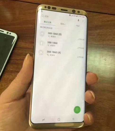 Samsung galaxy s8 цвета корпуса